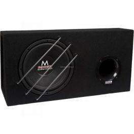 """AUDIO SYSTEM M 12 EVO BR Subwoofer BOXATO 300 mm 12"""", 4 ohm 600W in cassa MDF"""