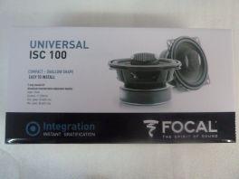 "FOCAL ISC 100 kit altoparlanti coassiali 2 vie  4"" (10cm) polyglass 80 Watts"