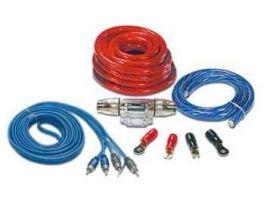 Kit completo collegamento di amplificatore, cavi da 50 mm2 V50, fusibiliera, cavo massa, cavo segnale, cavo remote