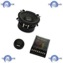 Kit GLADEN ZERO 100 a 2 vie, midrange da 100 mm, 2x 120/80 Watt, impedenza 3 Ohm.