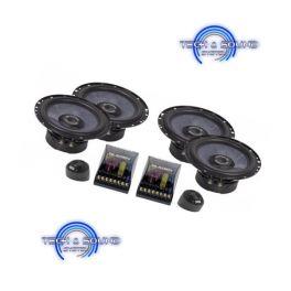 GLADEN SQX 165 DUAL Kit a 2 vie, Midwoofer da 165mm, 2x 360/240 Watt, impedenza 2 Ohm.