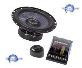 GLADEN SQX 165 a Kit 2 vie, mid-woofer da 165 mm, 2x 180/120 Watt, impedenza 2 Ohm.