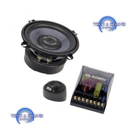 GLADEN SQX 130 Kit a 2 vie, midrange da 130 mm, 2x 150/100 Watt, impedenza 2 Ohm.