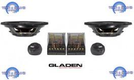 GLADEN RS 130 SLIM Kit a 2 vie, Midrange da 130 mm, sistema Slim,  2x 120/80 Watt, impedenza 3 Ohm