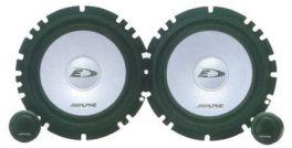 Alpine SXE-1750S Kit Altoparlanti a 2 vie separate 16,5 cm (6,5'') 280W