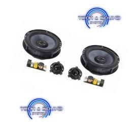GLADEN ONE 165 AUDI A4-SQX Kit 2 vie midrange da 165 mm, Potenza 2 x 120 Watt RMS per modelli A4 B6/B7