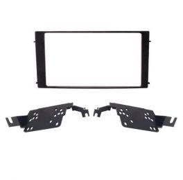 Kit di fissaggio per autoradio 2 DIN Hyundai Santa Fe 06-13 colore nero