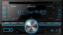 Kenwood DPX5000BT Sintolettore CD 2DIN con USB frontale e Bluetooth integrato