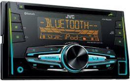 JVC KW-R920BT Autoradio 2 DIN Sintolettore CD con tecnologia wireless Bluetoot e USB/ingresso AUX frontali