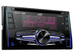 JVC KW-DB92BTE Autoradio 2 DIN CD / DAB / Bluetooth / Front-USB / Front-Aux-in / AOA 2.0 Android