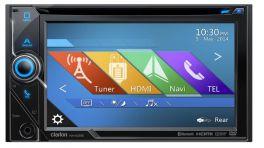 CLARION NX405E Autoradio 2 DIN Navigatore GPS,Bluetooth Parrot, Schermo ALTA RISOLUZIONE, CD/DVD