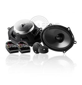 JL AUDIO C3-570 Altoparlanti Kit a 2 vie/coassiale, include 2 woofer ovali, 2 tweeter e 2 crossover, 75 Watt RMS 4 Ohm