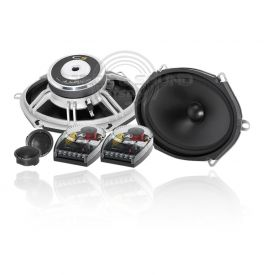 JL AUDIO C5-570 Kit Altoparlanti 2 vie include 2 woofer ovali, 2 tweeter e 2 crossover, 150 Watt Max 4 Ohm
