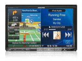 Alpine INE-W928R autoradio 2 DIN Car media station da 8'' con GPS e bluetooth , DVD , USB