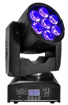 NICOLS BIRDY X ZOOM Testa mobile zoom led 7x12W