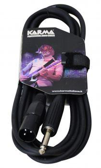 KARMA CA 8257M Cavo audio Jack 6,3 - XLR M - 3mt