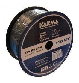 KARMA CA 8287K Cavo microfonico bilanciato - 100mt