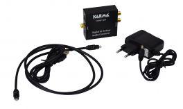 KARMA CONV 3DA Convertitore audio digitale-analogico con presa cuffia