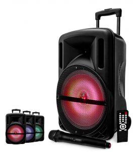 MYDJ DJOON Diffusore amplificato con radiomicrofono 500W
