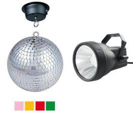 KARMA DJ 308LED Kit sfera a specchi