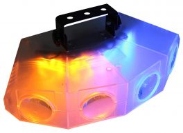 KARMA DJ LED244T Effetto luce quad moonflower trasparente