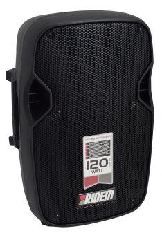 RIDEM EASY 8BT Box amplificato da 120W con USB+BT