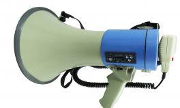 KARMA GT 1228USB Megafono con registratore da 25W USB/SD/MP3