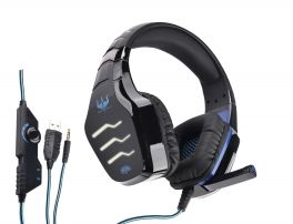 OVLENG GT 86BL Cuffia gaming con led blue