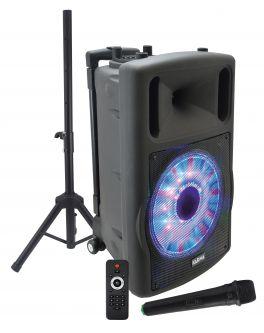 KARMA HPSB 12S Diffusore amplificato con radiomicrofono 700W PMPO