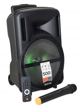 KARMA HPS B10 Diffusore amplificato con radiomicrofono 500W