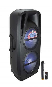 KARMA HPS B212 Diffusore amplificato con radiomicrofono 1000W