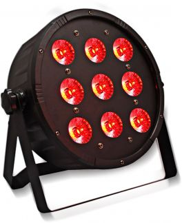 KARMA LED PAR117 Effetto luce DMX a led 9 x 13W RGBW