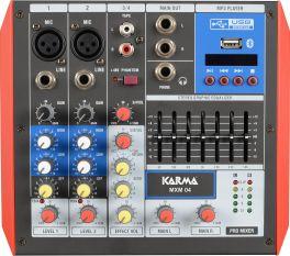 KARMA MXM 04 Mixer microfonico 4 canali