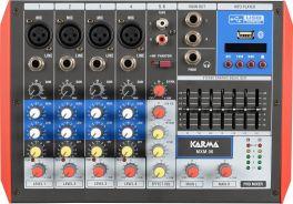 KARMA MXM 06 Mixer microfonico 6 canali