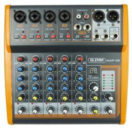 GLEMM MXP 06 Mixer microfonico 6 canali