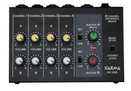KARMA MX 2008 Mixer microfonico 8 canali