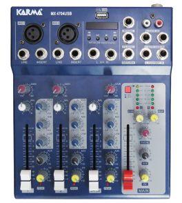 KARMA MX 4704USB Mixer microfonico a 4 canali
