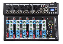 KARMA MX 4807 Mixer 7 canali - REC - MP3 - BLT
