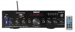 KARMA PA 2380 BT Amplificatore stereo con Display, MP3, Bluetooth 50W