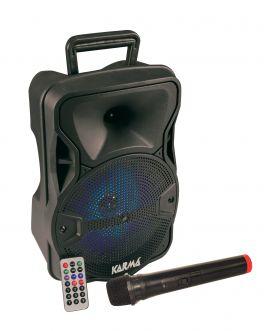 KARMA PSB 8 Diffusore amplificato con radiomicrofono 300W PMPO