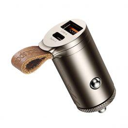 ROCK RCC 0153M Caricatore da auto type C +USB