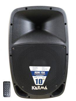 KARMA RDM 10A Box amplificato da 160W con USB+BT