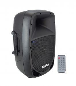 KARMA RDM 12A Box amplificato da 350W con USB+BT
