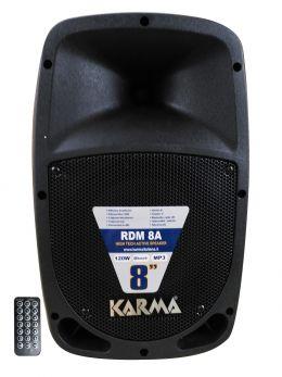KARMA RDM 8A Box amplificato da 120W con USB+BT