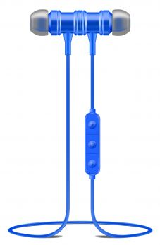 OVLENG S1BL Auricolari bluetooth magnetici blu