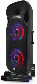 FESTI SOUND SFX 215 Diffusore ricaricabile 1000W con doppio radiomicrofono