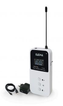 KARMA TG 99 Ricetrasmittente 100 canali per visite guidate