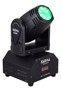 KARMA TM BEAM10 Mini testa mobile Beam 1led 10W