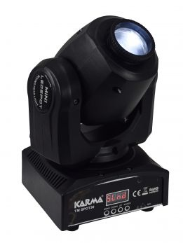 KARMA TM SPOT30 Mini testa mobile 1led da 30W