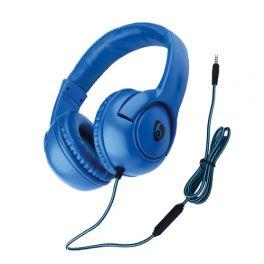OVLENG X 1BL Cuffia stereo con microfono blu